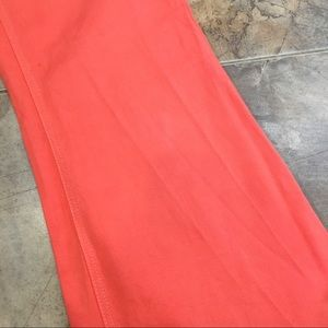 American Apparel Jeans - American Apparel Flare High Waist Orange Jeans 27